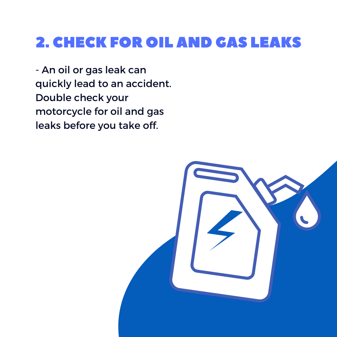 Check for Oil and Gas Leaks